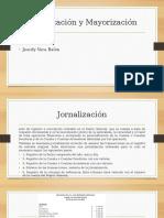Jornalización y Mayorización