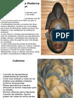 Cubismo, Futurismo e Dadá, arte entre guerras