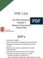PTRT 1321 Chapter 5