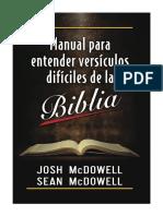 Josh McDowell - Manual Para Entender Versículos Difíciles