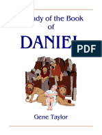 Daniel, A Study of the Book of - Gene Taylor - 37pp