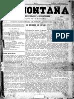 Diario de La Montaña - Diario Socialista 1897