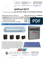 Alugen SPP - Brochure - DC Solar Air Conditioning