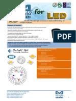 BuLED-30E-PRO LED Light Accessory to Replace MR16 Fitting for Prolihgt Modulars