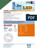 BuLED-30E-SHA LED Light Accessory to Replace MR16 Fitting for Sharp Modulars