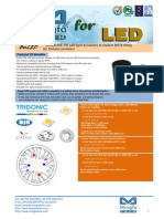 BuLED-30E-TRI LED Light Accessory to Replace MR16 Fitting for Tridonic Modulars