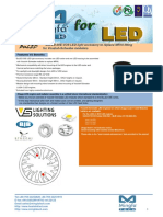 BuLED-30E-VOS LED Light Accessory to Replace MR16 Fitting for Vossloh-Schwabe Modulars