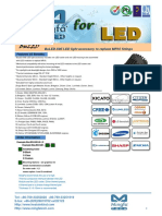 BuLED-50E LED Light Accessory to Replace MR16 Fittings