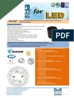 BuLED-50E-EDI LED Light Accessory to Replace MR16 Fitting for Edison Modulars