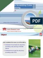 200898925-Huawei-WCDMA-Primary-Scrambling-Code-Planning.ppt