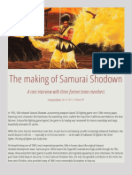 The Making of Samurai Shodown