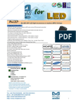 BuLED-50F LED Light Accessory to Replace MR16 Fittings