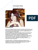 Currículim Fernanda Ferreri