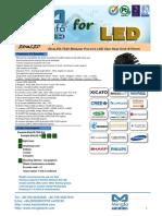 EtraLED-7020 Modular Passive LED Star Heat Sink Φ70mm
