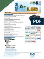 EtraLED-4880 Modular Passive LED Star Heat Sink Φ48mm