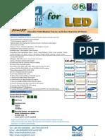 EtraLED-11050 Modular Passive LED Star Heat Sink Φ110mm