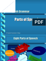 Grammar Part of Speech