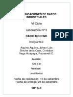 Lab06 RadioModem Aquino Sinche Vega