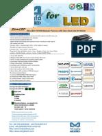 EtraLED-130100 Modular Passive LED Star Heat Sink Φ130mm