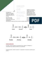Grupos Funcionales en Moleculas Organicas