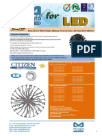 EtraLED-CIT-9620 Citizen Modular Passive Star LED Heat Sink Φ96mm