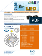 EtraLED-CIT-9650 Citizen Modular Passive Star LED Heat Sink Φ96mm