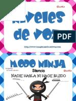 Niveles de Voz Servilletas PDF