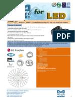 EtraLED-LG-8580 LG Innotek Modular Passive Star LED Heat Sink Φ85mm
