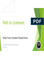 Path to Licensure ASPPB