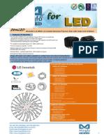EtraLED-LG-9650 LG Innotek Modular Passive Star LED Heat Sinkr Φ96mm