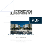 Stockton Housing Department Analysis