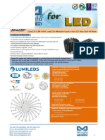 EtraLED-LUM-11050 for LumiLEDs Modular Passive Star LED Heat Sink Φ110mm