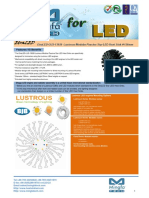 EtraLED-LUS-13020 Lustrous Modular Passive Star LED Heat Sink Φ20mm