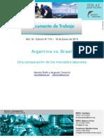 Argentina vs. Brasil Una Comparación de Los Mercados Laborales