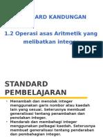 1.2 Operasi Asas Aritmatik