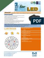 EtraLED-LUS-4880 Lustrous Modular Passive Star LED Heat Sink Φ48mm