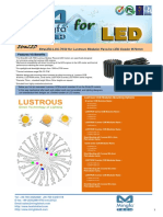 EtraLED-LUS-7050 for Lustrous Modular Passive LED Cooler Φ70mm