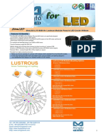 EtraLED-LUS-9680 for Lustrous Modular Passive LED Cooler Φ96mm