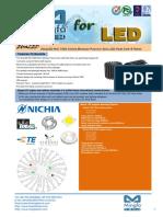 EtraLED-NIC-7080 Nichia Modular Passive Star LED Heat Sink Φ70mm