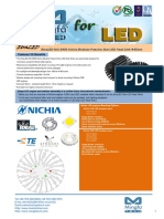 EtraLED-NIC-8550 Nichia Modular Passive Star LED Heat Sink Φ85mm