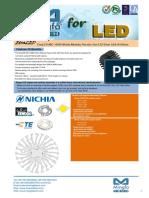 EtraLED-NIC-13080 Nichia Modular Passive Star LED Heat Sink Φ130mm
