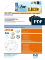 EtraLED-OSR-4850 Osram Modular Passive Star LED Heat Sink Φ48mm