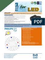 EtraLED-PHI-4850 for Philips Modular Passive Star LED Heat Sink Φ48mm