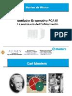 Munters Presentacion Cooler FCA 15 T & B Alugen