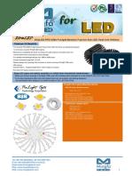 EtraLED-PRO-8580 Prolight Modular Passive Star LED Heat Sink Φ85mm
