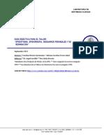 Guía taller Episiotomía, episiorrafía