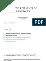 Tema 5 Bolsas de Metales