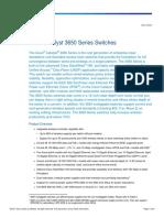 Cisco Catalyst 3650 Data Sheet