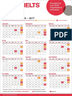 British Council Ielts Test Dates 2017