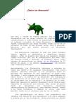 Qué es un dinosaurio